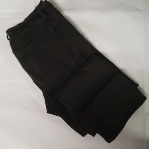 Faded Glory Black Straight Jean's 30x30